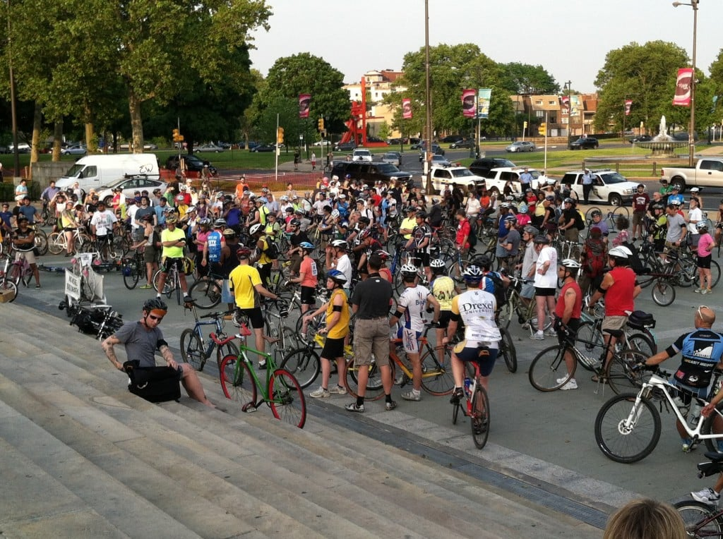 Before the 2012 Ride of Silence