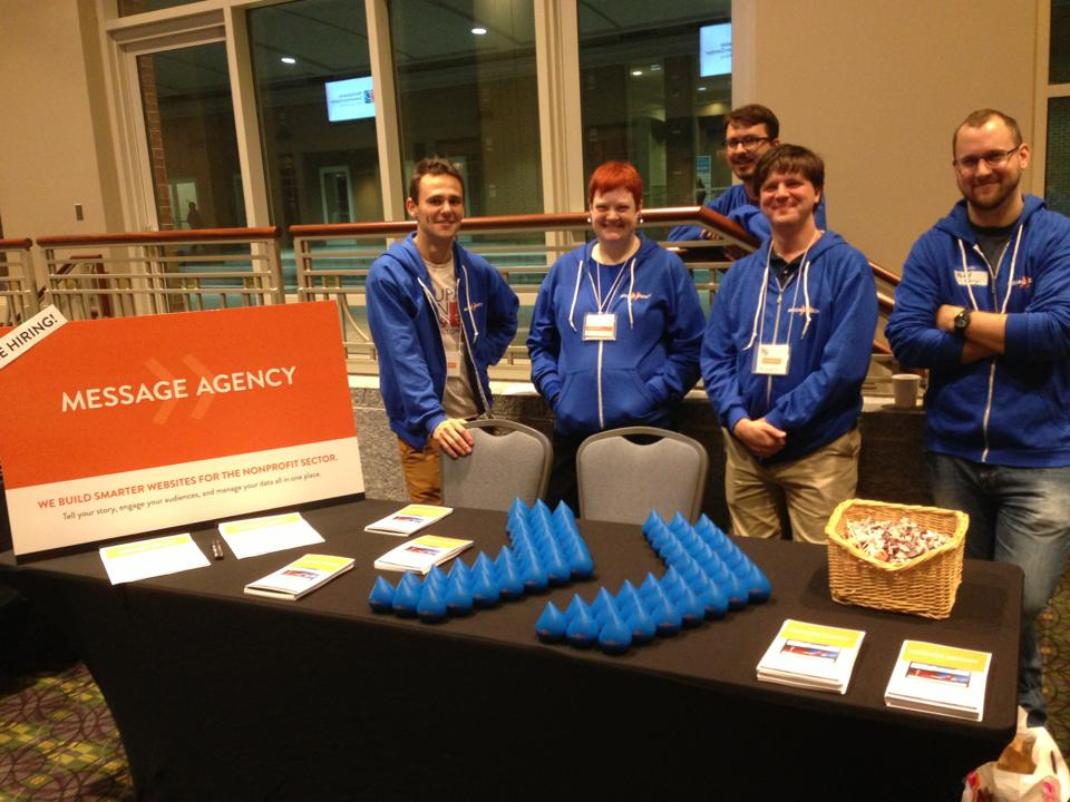Message Agency at Drupalcon