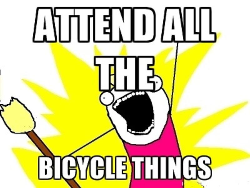 all the bike things meme