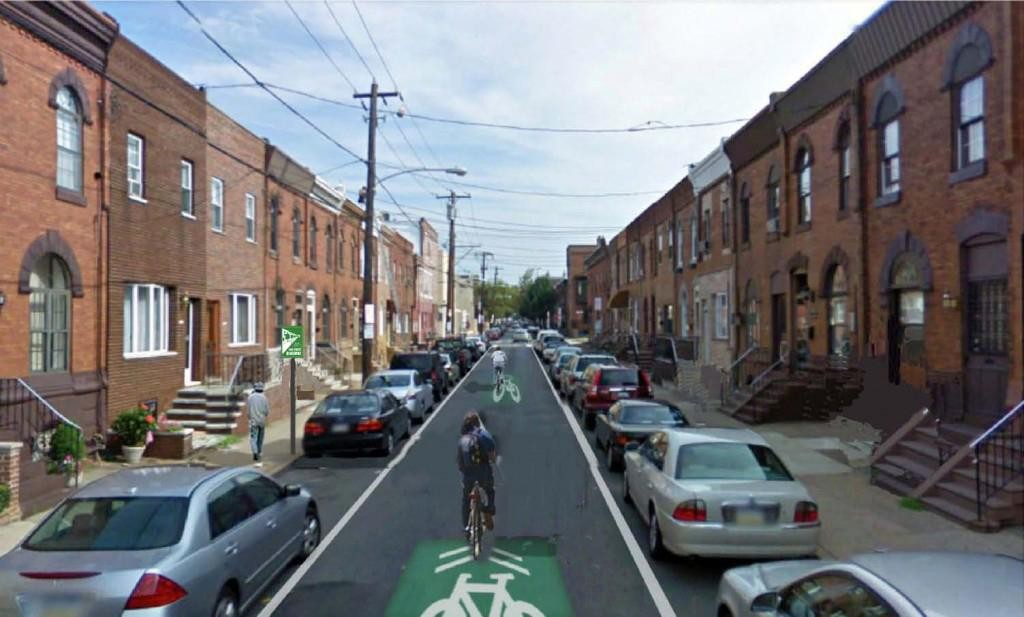 What 13th and 15th could look like between South Street and Oregon Ave.