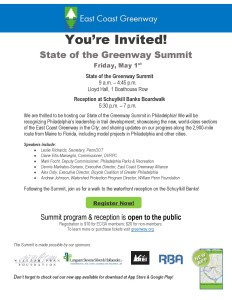 2015 ECG Spring Summit Invitation