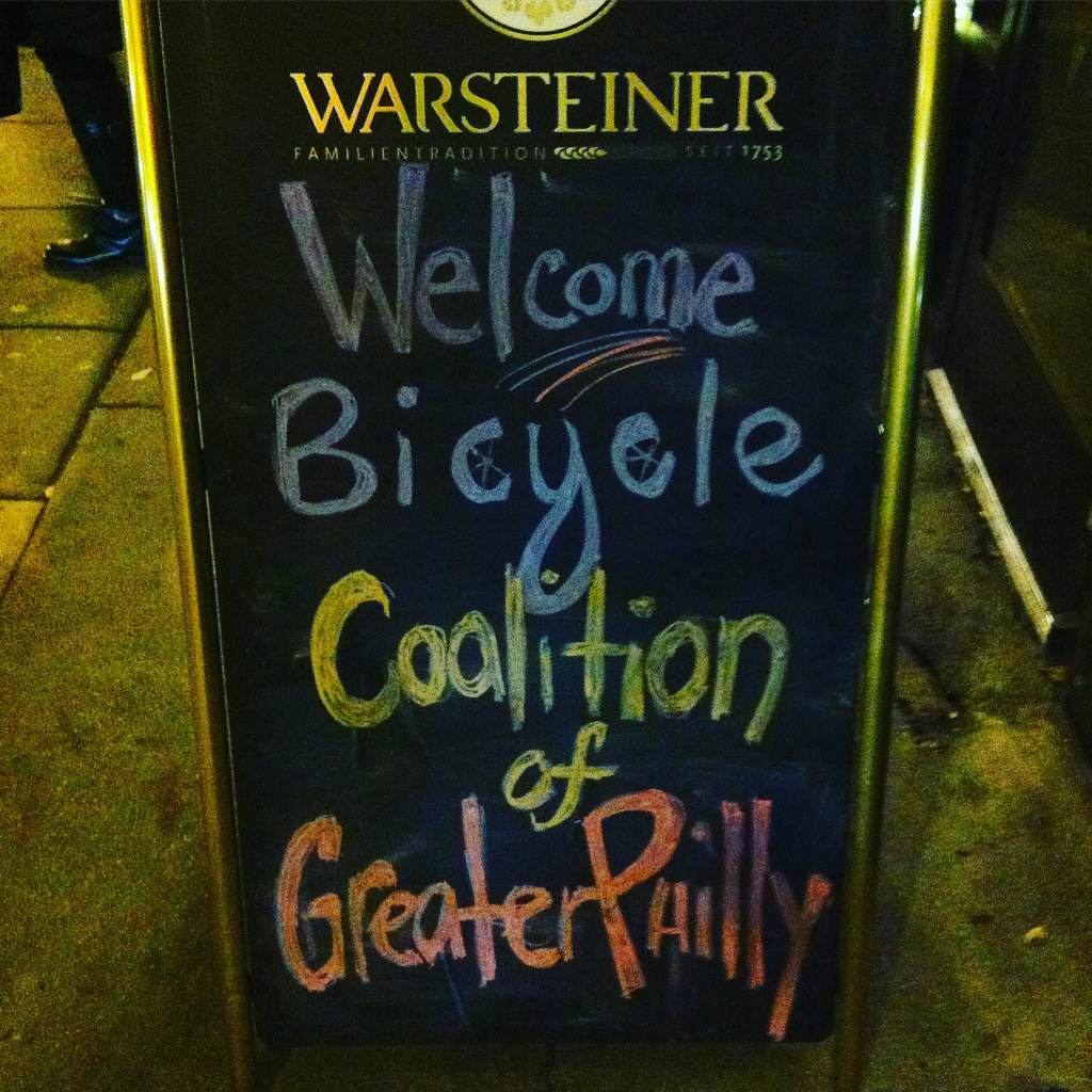The night ended with a Happy Hour at Bru on Chestnut Street.