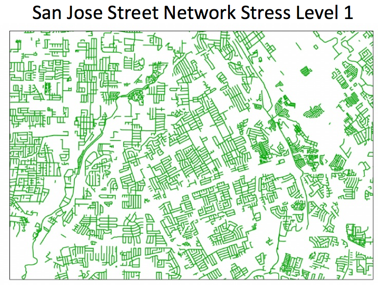 San Jose Street Network Stress Level 1