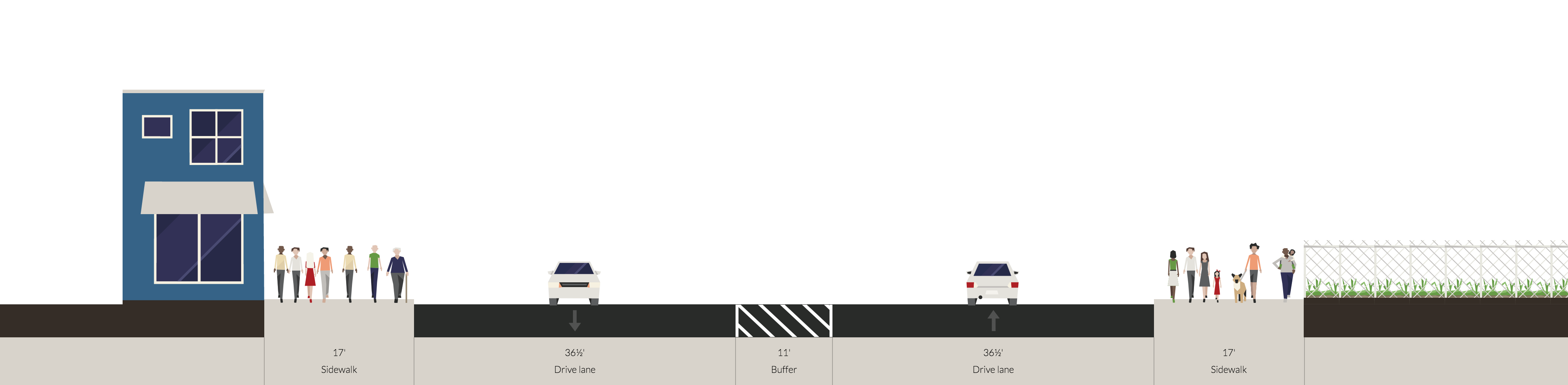 american-street-with-center-rail-tracks