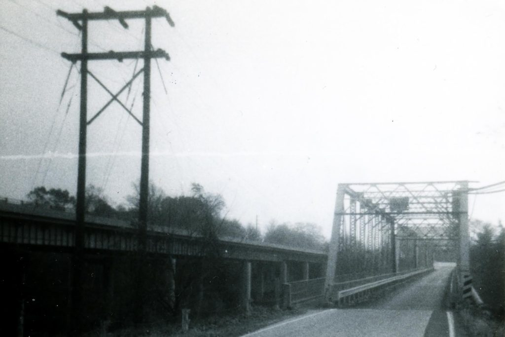 The Betzwood Bridge in 1974.