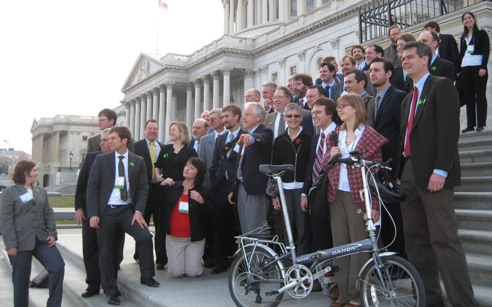 Come to Washington DC for the National Bike Summit Lobby Day