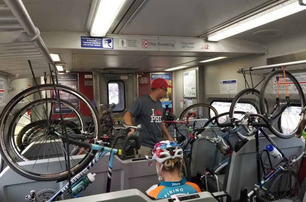 All Aboard! Take Your Bike on the Train for an Excursion to New Castle, DE