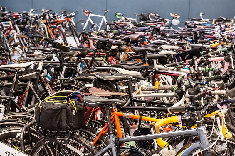 Bike Valet at Philly Bike Expo