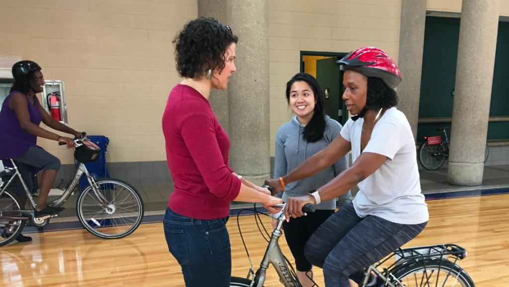Adult bicycle classes in Philadelphia