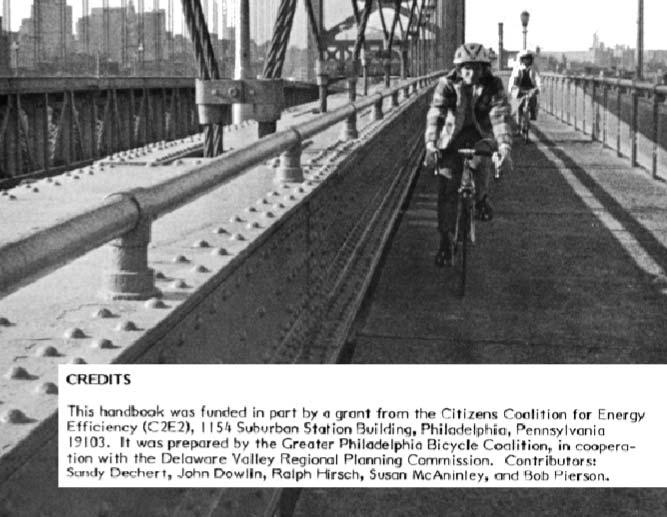 Ben Franklin Bridge in 1973: Another Way to Work