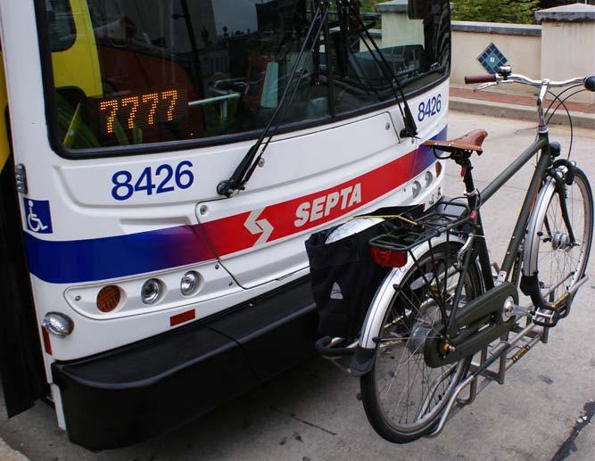 2006 SEPTA bike racks