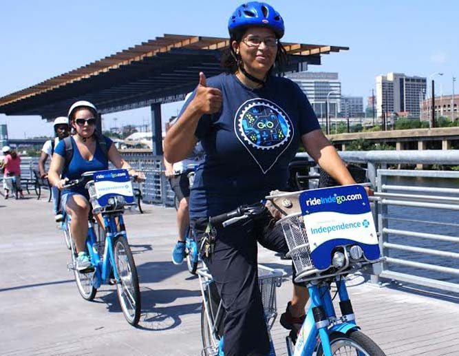 Indego launched in 2015 through our advocacy with Better Bike Share Partnership