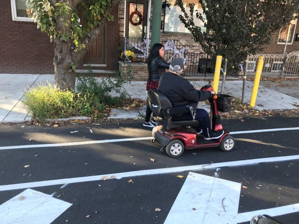 Bike Advocacy outreach in Philadephia