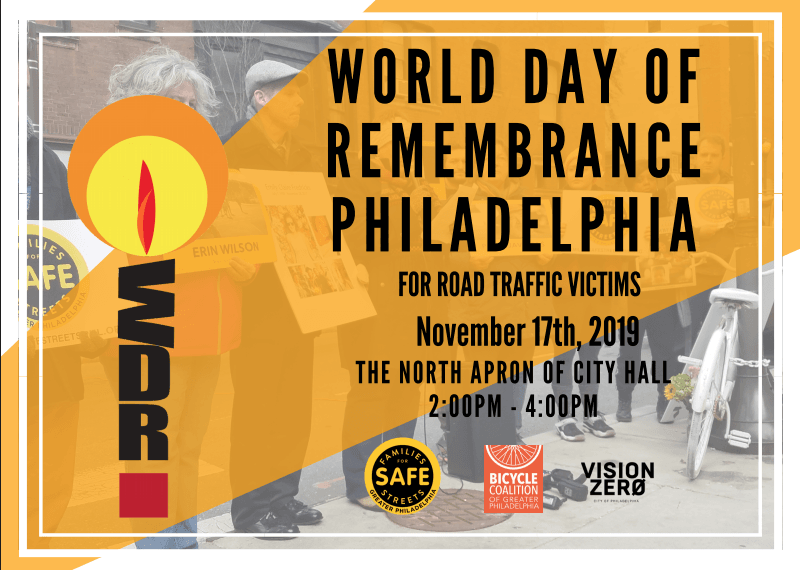Press Release: Families For Safe Streets to Remember All Traffic Victims, Rally for State Legislation on Sunday