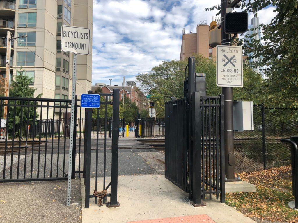Race Street gate