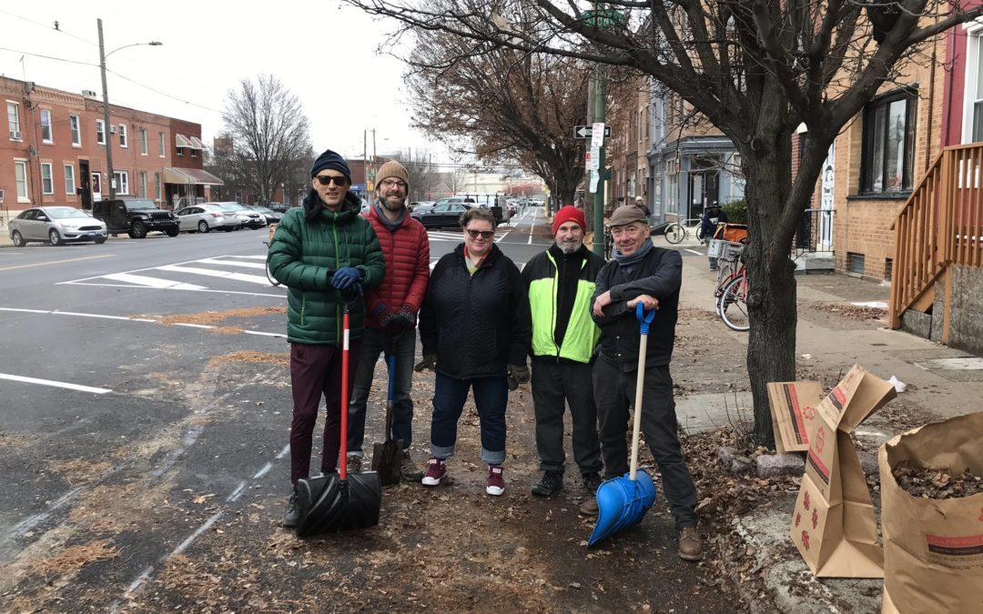 We Cleaned Up The 11th Street Bike Lane With Transport Cycles