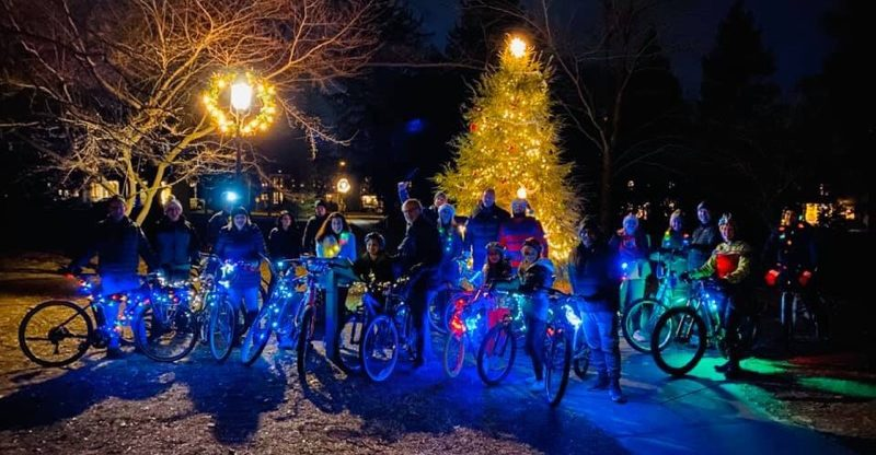 Wenonah's Holiday Lights Ride Brings Cheer to Gloucester County