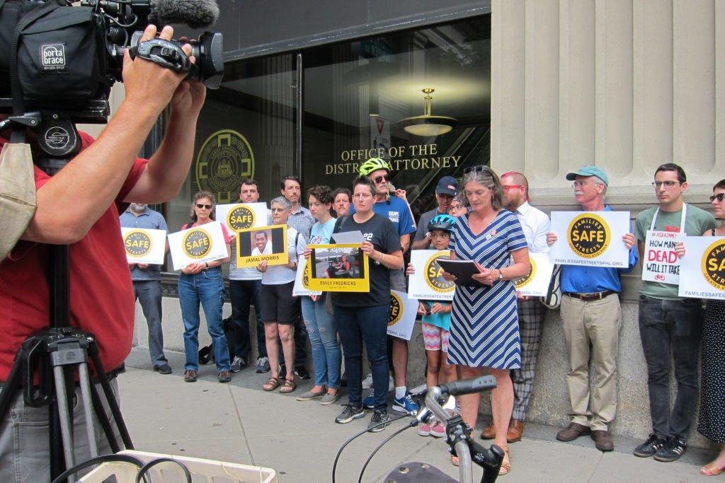 Emily Fredricks appeal in Philadelphia at DA office