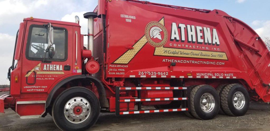 Athena made their trucks safer
