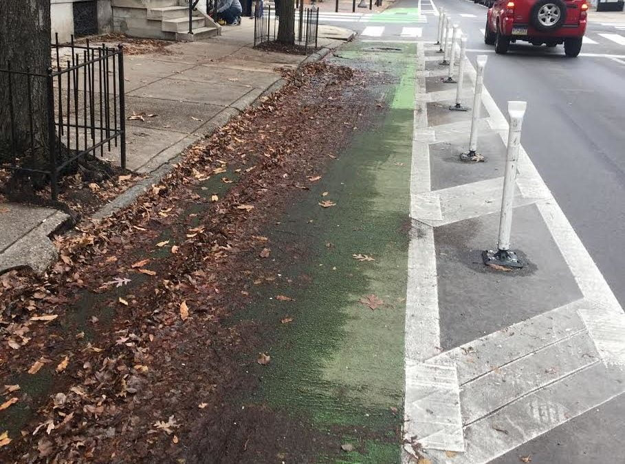 TODAY: Pine St. Bike Lane Cleanup at 2pm