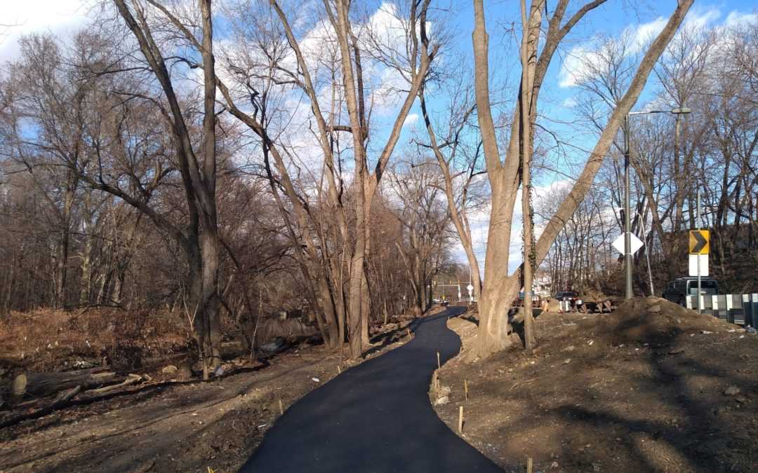There's a New Extension of the Cobbs Creek Trail in Southwest Philly