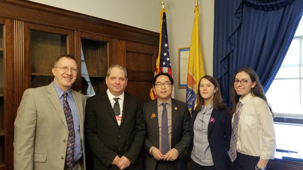 Meeting with NJ 3 Representative Andy Kim in March 2019