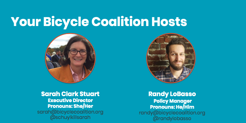 TONIGHT: The Bicycle Coalition's First Virtual Community Meeting