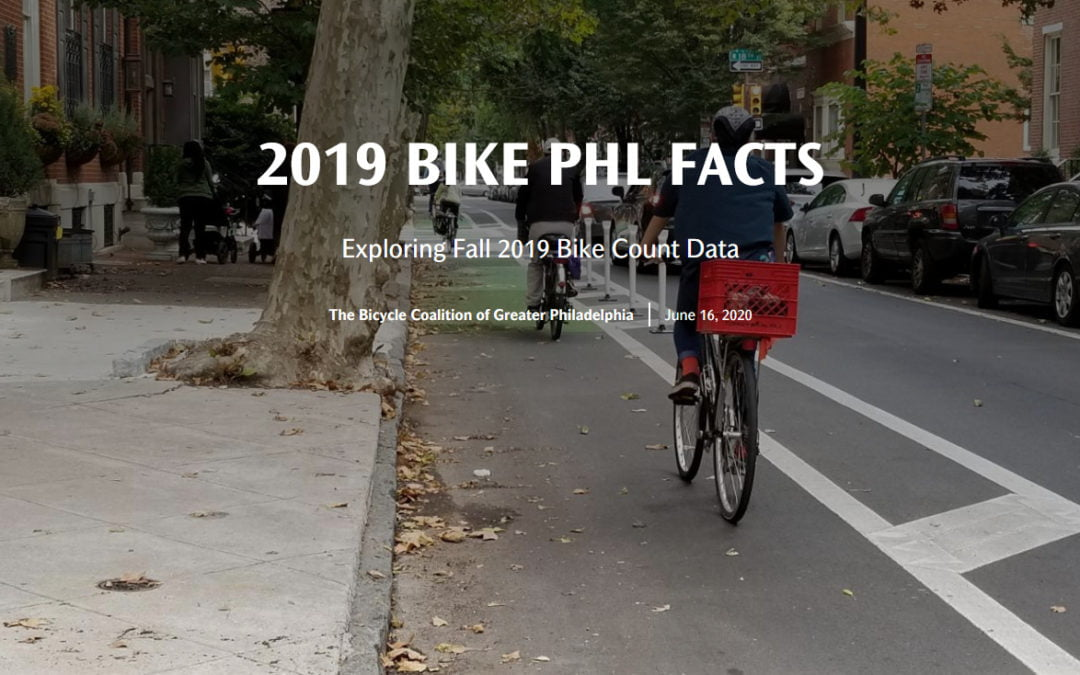 2019 Fall Bike Counts Show Bicycling Was Increasing Before Covid-19