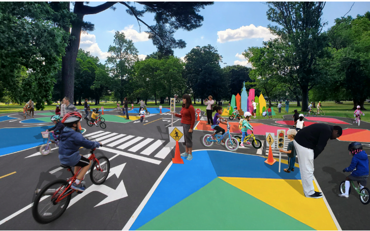 Kaboom! Philly is Getting its First Bicycle Traffic Park!