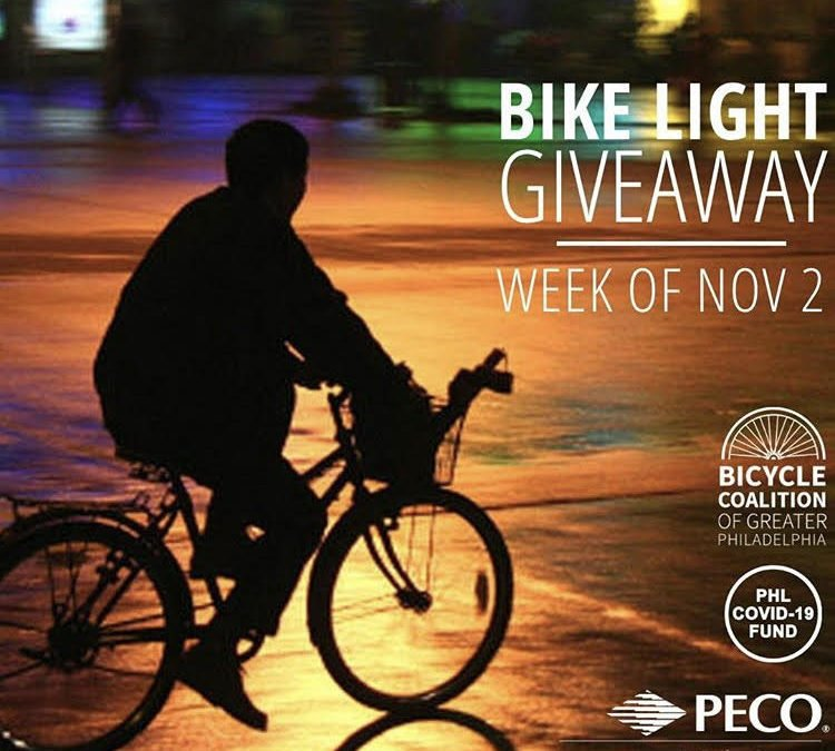 Monday: BIGGER and BRIGHTER Bike Light Giveaway 2020