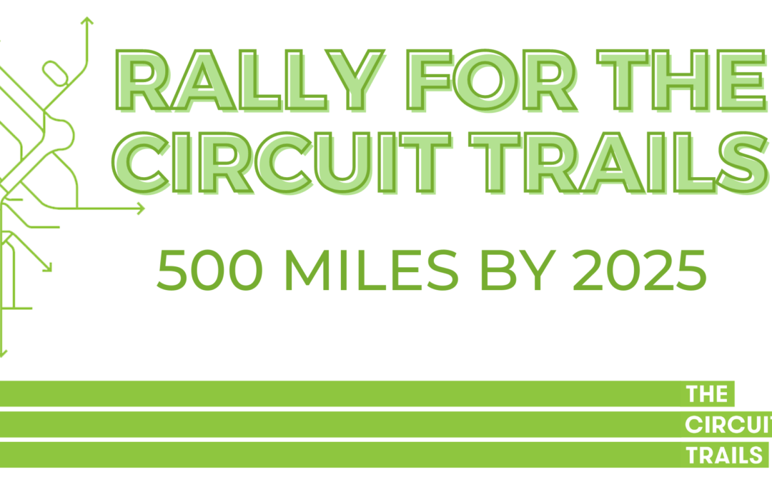 Rally for the Circuit Trails in Camden, Gloucester and Bucks Counties