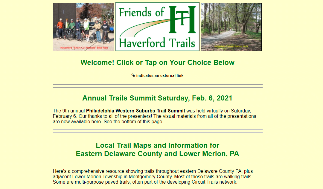 Watch the Philly Western Suburbs Trail Summit Presentations