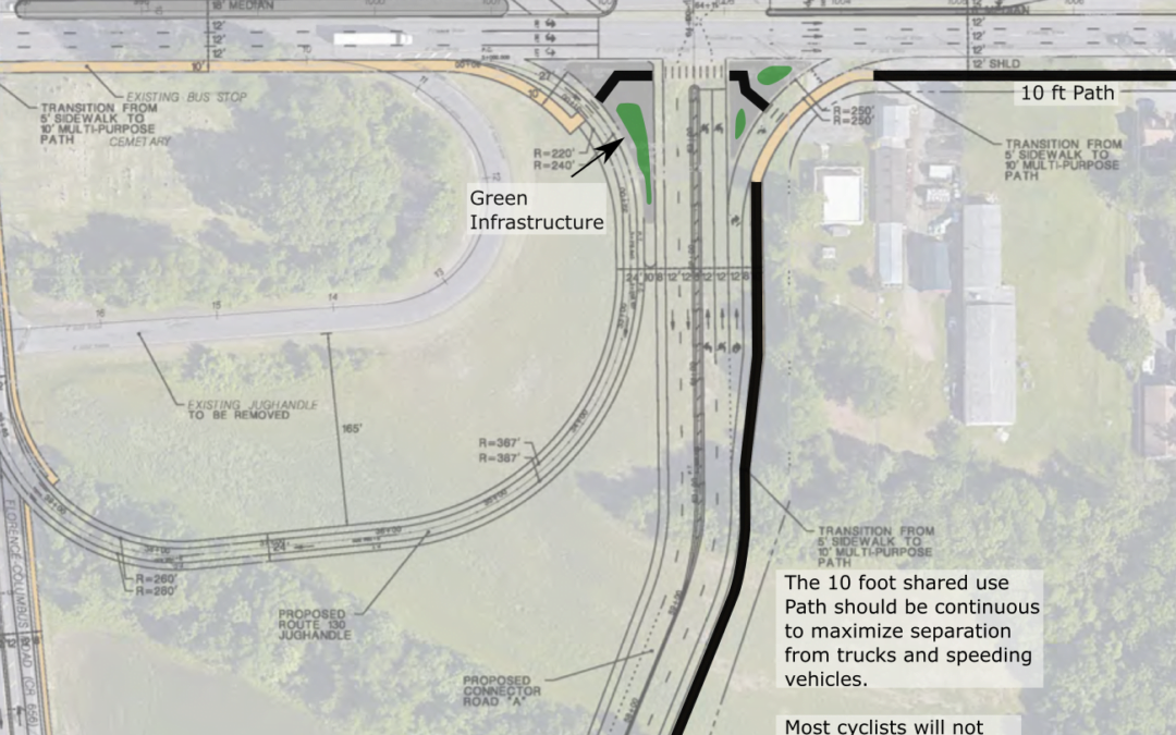 Take Action: Comment on US 130 Intersection Plan in Burlington Co., NJ