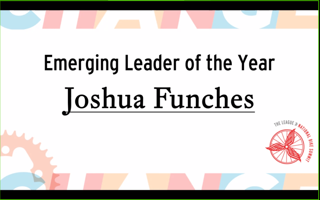 Joshua Funches is the Emerging Leader of the Year